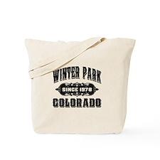Winter Park Since 1978 Black Tote Bag