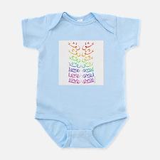 Eshgh is Love (rainbow) Infant Bodysuit