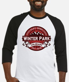 Winter Park Red Baseball Jersey
