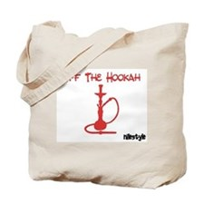 Off the Hookah (Red) Tote Bag