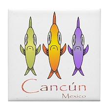 Funny Cancun Tile Coaster