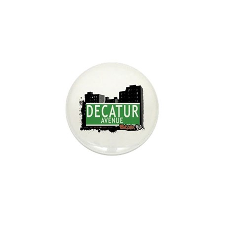 Decatur Av, Bronx, NYC Mini Button (10 pack)