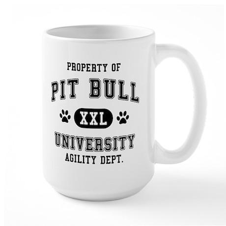 Property of Pit Bull Univ. Large Mug