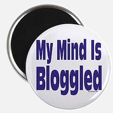 Mind Is Bloggled Magnet