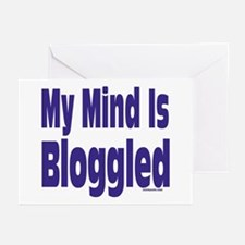 Mind Is Bloggled Greeting Cards (Pk of 10)