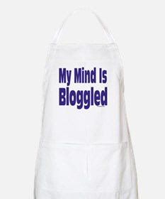 Mind Is Bloggled BBQ Apron