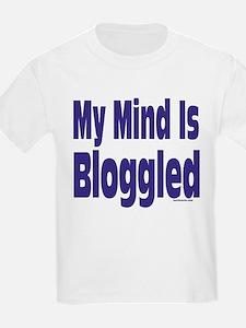 Mind Is Bloggled Kids T-Shirt