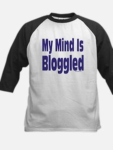 Mind Is Bloggled Kids Baseball Jersey