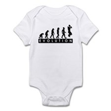 Evolution of the Basketball P Infant Bodysuit