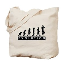 Evolution of the Basketball P Tote Bag