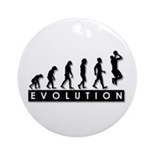 Evolution of the Basketball P Ornament (Round)