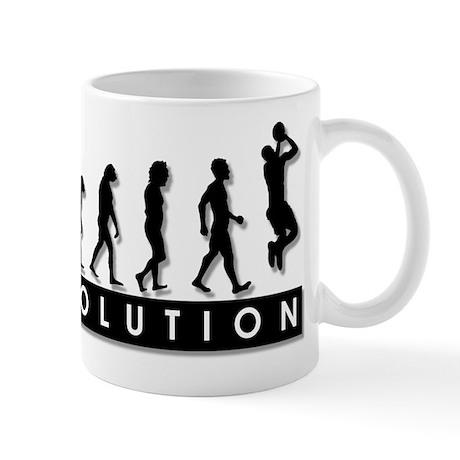 Evolution of the Basketball P Mug
