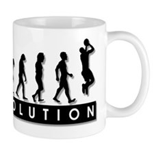 Evolution of the Basketball P Mug
