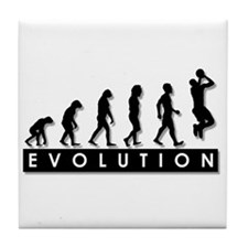 Evolution of the Basketball P Tile Coaster