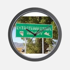 New ET Highway Sign Wall Clock