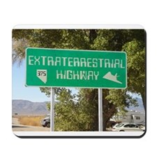 New ET Highway Sign Mousepad