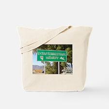 New ET Highway Sign Tote Bag