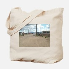 Rachel Back Gate to Area 51 Tote Bag