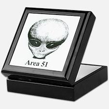 Area 51 Alien Keepsake Box