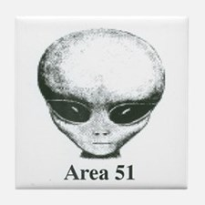 Area 51 Alien Tile Coaster