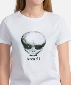Area 51 Alien Women's T-Shirt