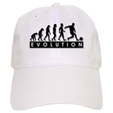 Evolution of a Soccer Player Baseball Cap