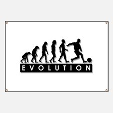 Evolution of a Soccer Player Banner