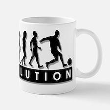 Evolution of a Soccer Player Mug