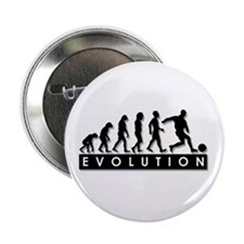 """Evolution of a Soccer Player 2.25"""" Button"""