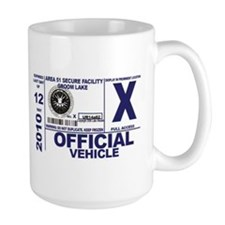 Area 51 Parking Pass Mug