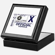 Area 51 Parking Pass Keepsake Box