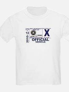 Area 51 Parking Pass T-Shirt