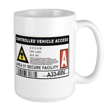 Area 51 Controlled Parking Pa Mug