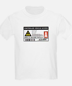 Area 51 Controlled Parking Pa T-Shirt