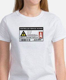 Area 51 Controlled Parking Pa Women's T-Shirt