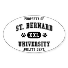 Property of St. Bernard Univ. Decal