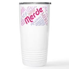 Merde Travel Mug