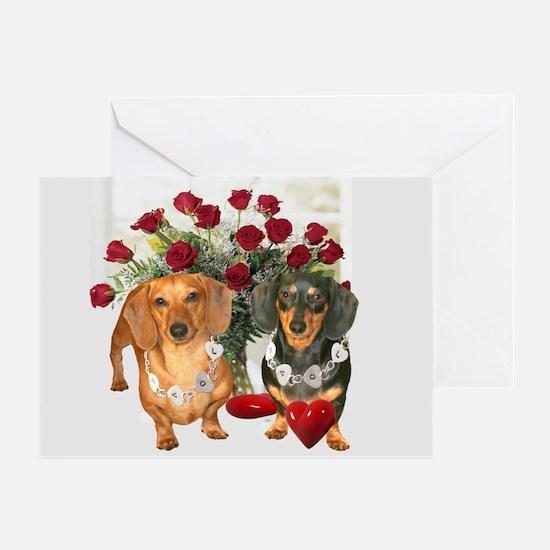 Dox Love Greeting Card