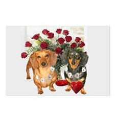 Dox Love Postcards (Package of 8)