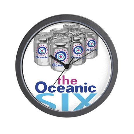 Oceanic Six Wall Clock