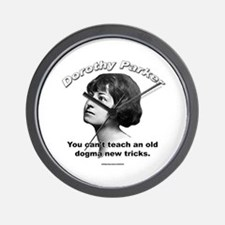 Dorothy Parker 01 Wall Clock