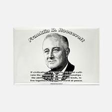 Franklin D. Roosevelt 01 Rectangle Magnet