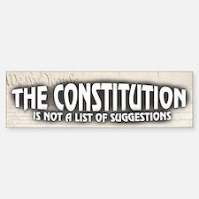Constitution Bumper Bumper Sticker