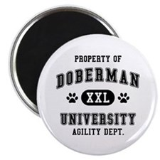 Property of Doberman Univ. Magnet