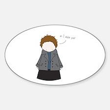 Tiny Edward Cullen Decal