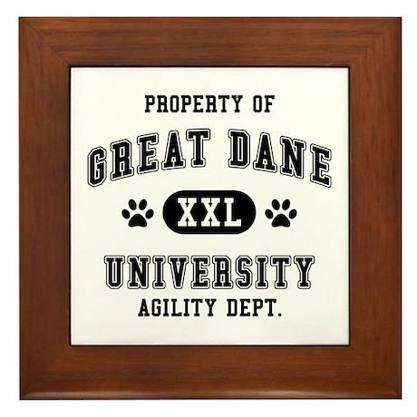 Property of Great Dane Univ. Framed Tile