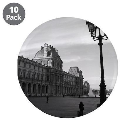 """Paris Love 3.5"""" Button (10 pack)"""