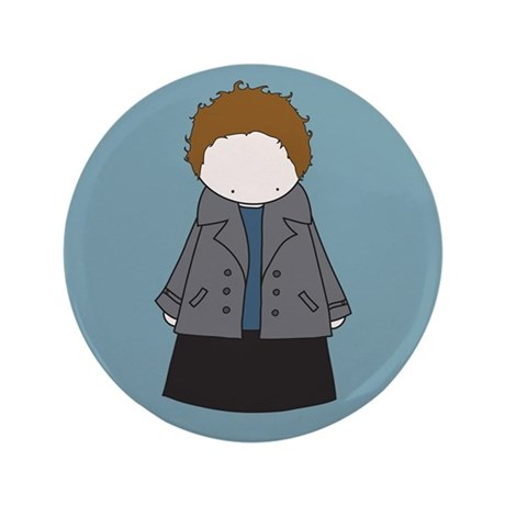 "Tiny Edward Cullen 3.5"" Button (100 pack)"