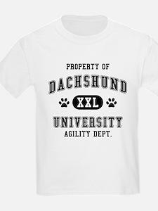 Property of Dachshund Univ. T-Shirt