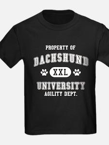 Property of Dachshund Univ. T